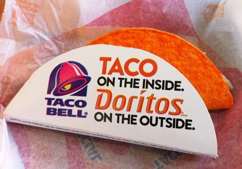 Doritos'd for her pleasure.