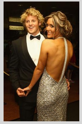 Bogans gone classy for the Australian Rules Football Brownlow Medal event.