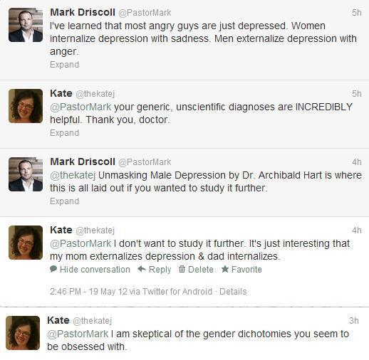 Listener Katie vs. Mark Driscoll