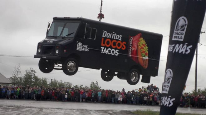 Taco Bell airlifts USDA grade-D meat to the good people of Alaska.