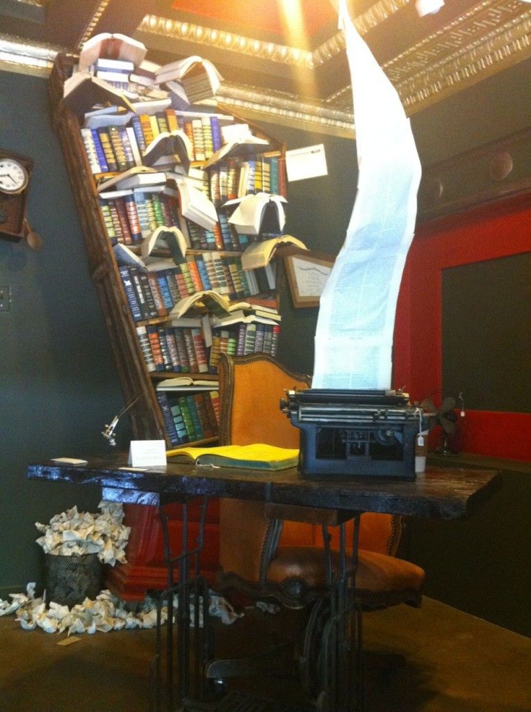 Installation at The Last Bookstore