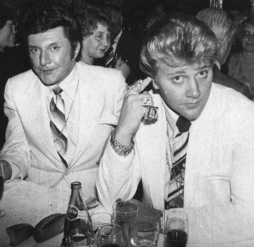 Liberace and his boyfriend Lee