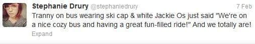 Stephy's fateful tweet.