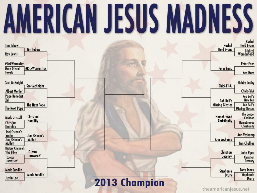 Vote for Stephy in American Jesus Madness! Who wants to eat chimichangas all year? Not me. Vote for summer!