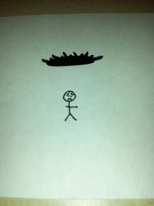 Stephy's rendering of the onus being on you.