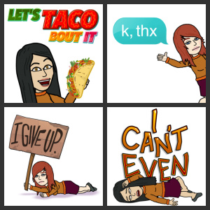 Fun with Bitmoji